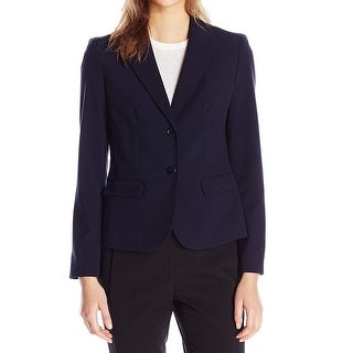 Link to Nine West Women's Blazer Navy Blue Size 16 Two-Button Stretch Notched Similar Items in Suits & Suit Separates