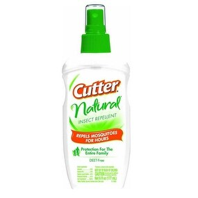 Cutter HG-95917 Natural Insect Repellent Pump Spray, 6 Oz