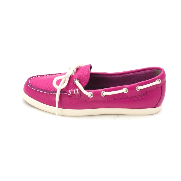 Cole Haan Womens W02519 Closed Toe Boat Shoes - 6