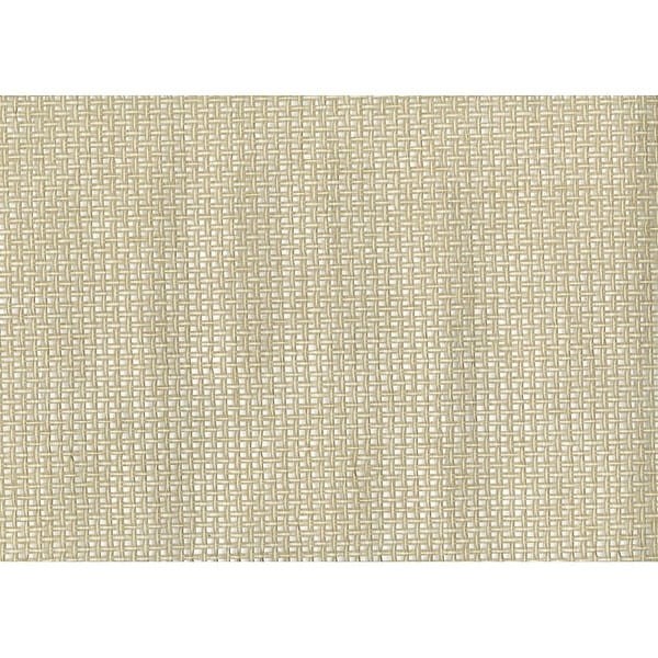 Silver Grasscloth Wallpaper: Shop Brewster 63-54774 Xiang Silver Grasscloth Wallpaper