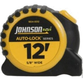 Johnson 1804-0012 Auto Lock Power Tape