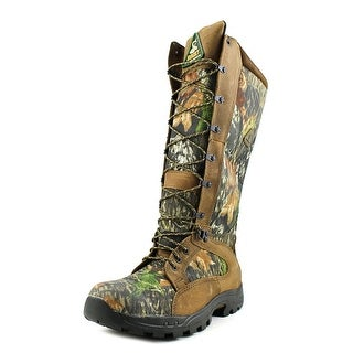 """Rocky 16"""" Pro-Light Snake Boot Men Round Toe Canvas Multi Color Work Boot"""