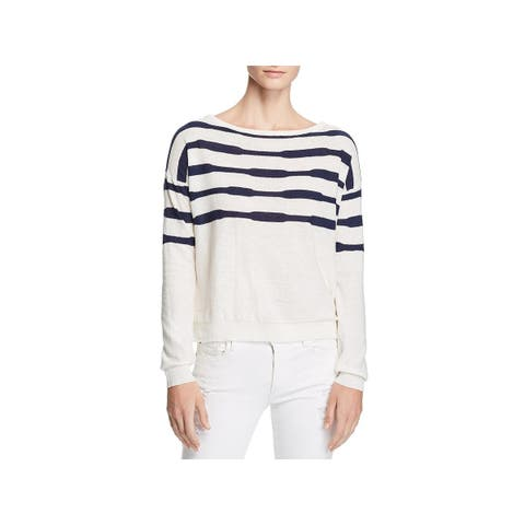 Splendid Womens Sweater Linen Striped - M