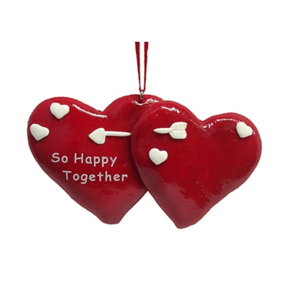 So Happy Together Lovers Christmas Ornament To Personalize