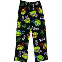 Teenage Mutant Ninja Turtles Men's Black Sleep Pants