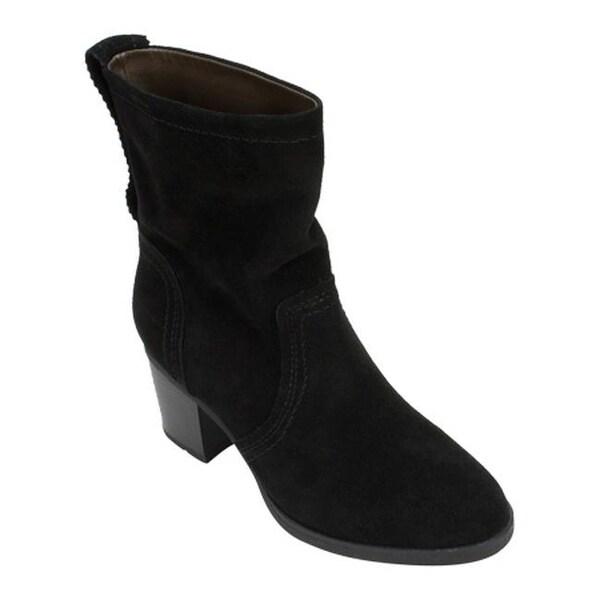 Mountain Behari Ankle Women's Boot Suede Black White 67yfYbvg