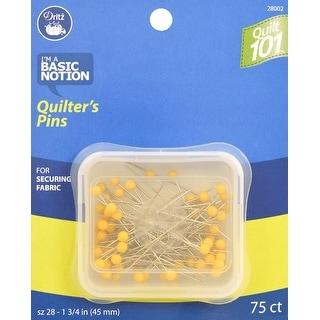 Dritz Quilt 101 Quilter's Pins-Size 28 75/Pkg