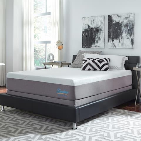 Slumber Solutions Choose Your Comfort 12-inch Gel Memory Foam Mattress Set