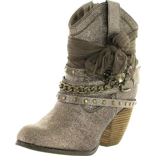 Not Rated Womens Glitzy Trio Harness Boots