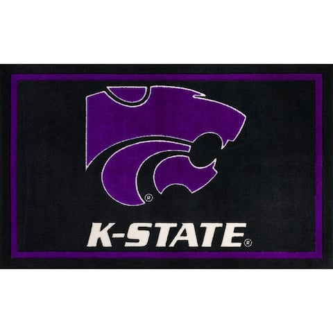 Addison Campus NCAA Big 12 Conference Sports Rugs