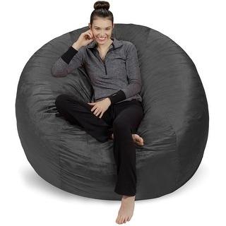 Link to 6-foot Bean Bag Chair Large Memory Foam Bean Bag Similar Items in Kids' & Toddler Furniture