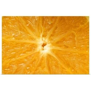 """Orange"" Poster Print"