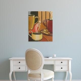 Easy Art Prints Norman Wyatt's 'Another Cup III' Premium Canvas Art