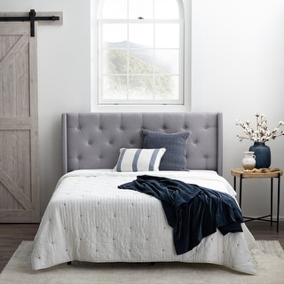 Link to Brookside Bella Low Profile Wingback Headboard Similar Items in Bedroom Furniture