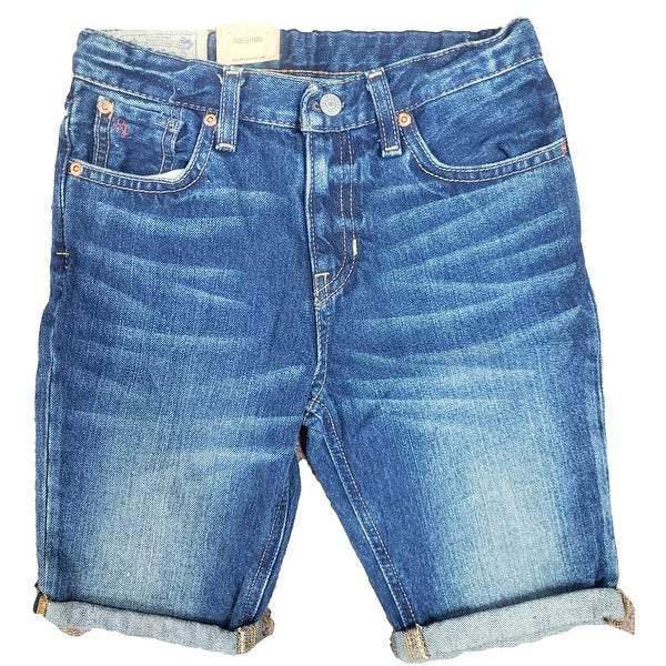 Polo Ralph Lauren Boy's Denim Sullivan Stretch Jean Shorts. Opens flyout.