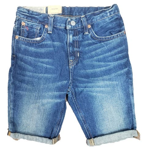 Polo Ralph Lauren Boy's Denim Sullivan Stretch Jean Shorts