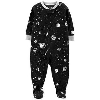 Carter's Baby Boys' 1-Piece Space Fleece PJs