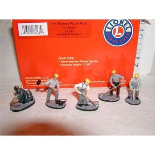 Lionel LIO83168 Iron Workers Figure Pack