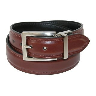 Dickies Boy's Feather Edge Reversible Dress Belt - brown to black