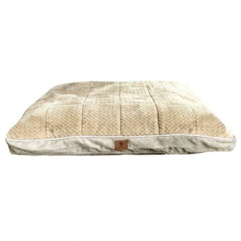 "American Kennel Club AKC9135 Burlap & Pixel Thermal Gusset Pet Bed, 27"" x 36"""