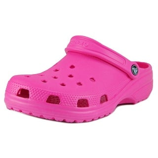 Crocs Classic Men Round Toe Synthetic Pink Clogs