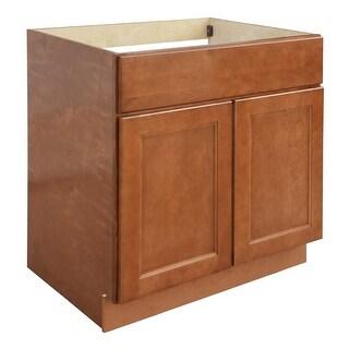 """Ellisen 33"""" Double Door Sink Base Cabinet - N/A"""