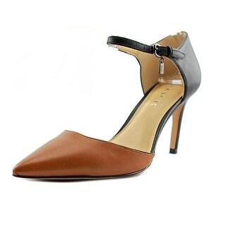 Coach Womens Seline - saddle/black matte calf/matte calf
