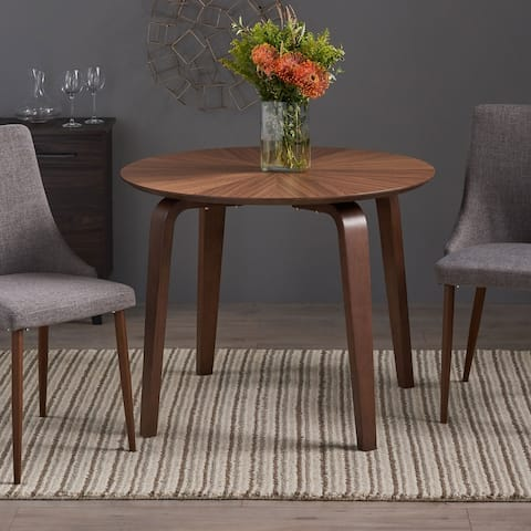 Argonne Faux Wood Dining Table with an Oak Veneer by Christopher Knight Home