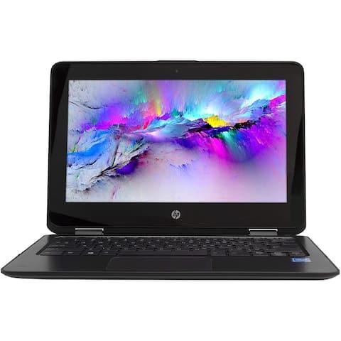 "HP ProBook Touchscreen Laptop 11.6"" Intel 4GB RAM 128GB SSD Windows 10"