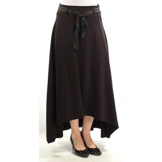 Womens Black Casual Skirt Size 6