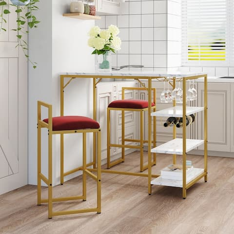 2-Person Counter Height Dining Set