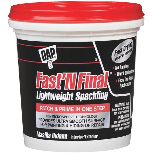 DAP Fast & Final Spackling