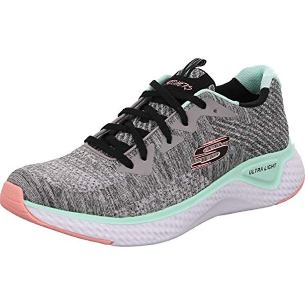 Low-Top Trainers, Gray/Multi