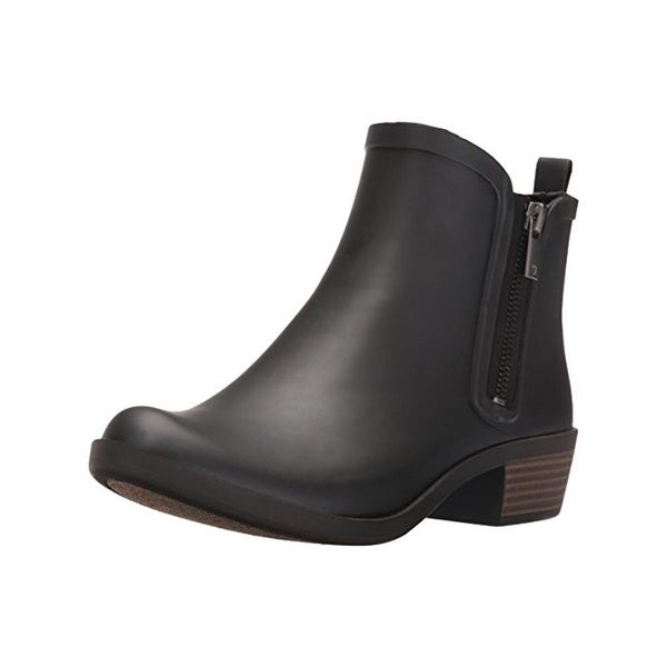 Lucky Brand Womens Baselrain Rain Boots Ankle Round Toe