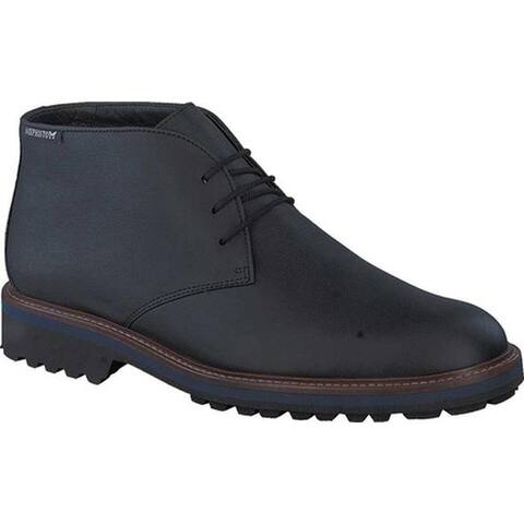 Mephisto Men's Berto Chukka Boot Black Nevada Smooth Leather