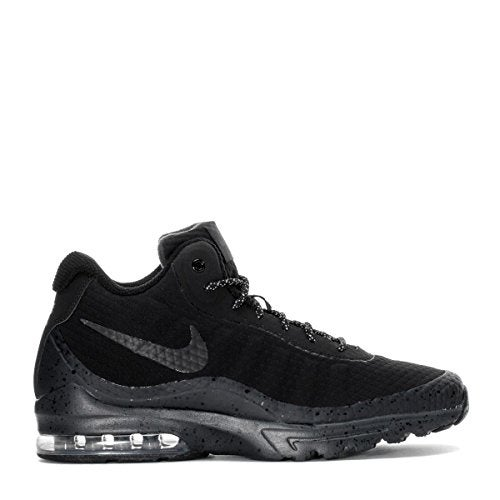 599cd819b4 Shop NIKE Mens Air Max Invigor Mid Athletic Boot Black/Black/Anthracite  858654-004 - Free Shipping Today - Overstock - 20976321