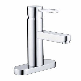 Bathroom Faucet Chrome 1 Handle Centerset 6 3/8 H Renovator's Supply