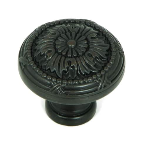 Stone Mill Hardware - Oil Rubbed Bronze Florence Cabinet Knobs (Pack of 25)