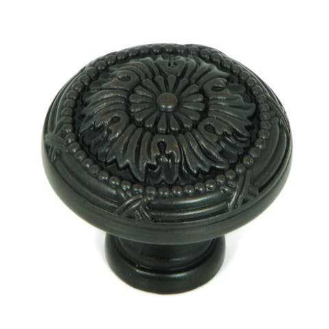Stone Mill Hardware - Oil Rubbed Bronze Florence Cabinet Knobs (Pack of 5)