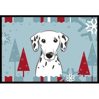 Carolines Treasures BB1706JMAT Winter Holiday Dalmatian Indoor & Outdoor Mat 24 x 36 in.