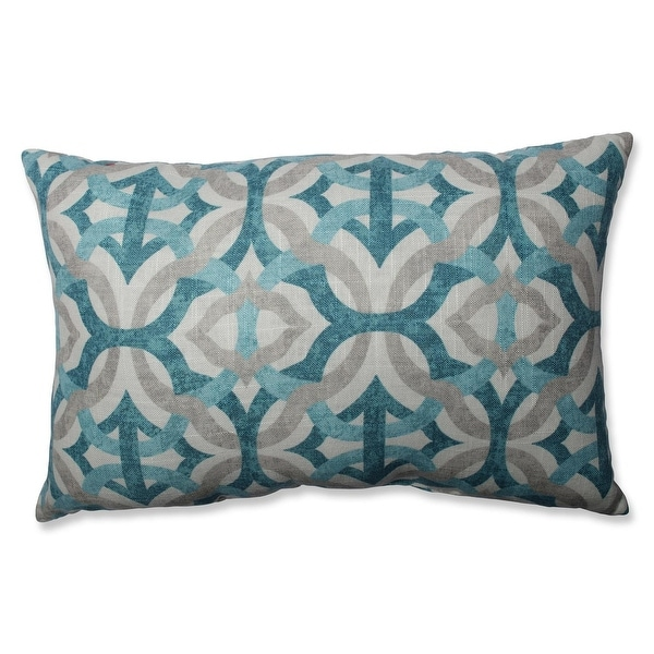 """18.5"""" Tangled In Frost Rectangular Decorative Throw Pillow"""
