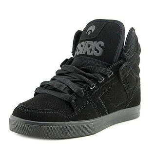 Osiris Clone Youth Round Toe Synthetic Black Skate Shoe