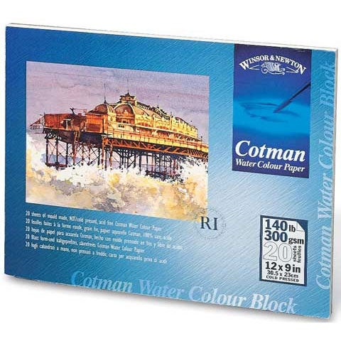 "Winsor & Newton - Cotman Watercolor Paper Block - 10"" x 14"""