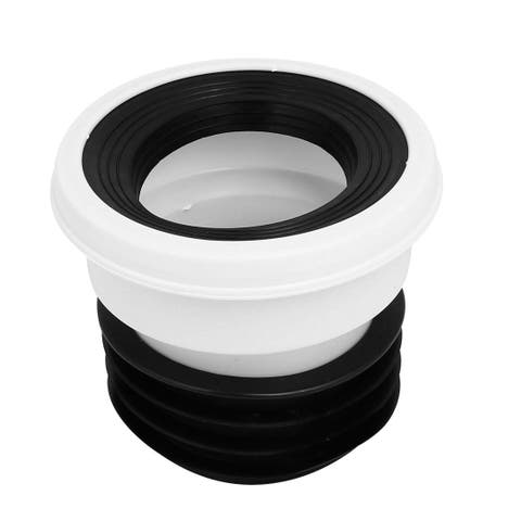 PVC Rubber Straight Type Leak Proof Toilet Flange for Drainage Systems