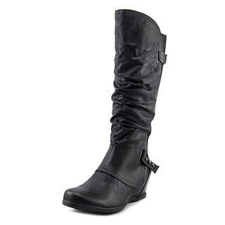 Bare Traps Womens Quivina Closed Toe Mid-Calf Fashion Boots Fashion Boots