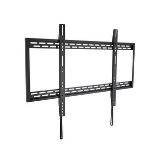 MonopriceStable Series Large Fixed Wall Mount for Extra Large 50 - 100 inch TVs Max 220 lbs UL Certified
