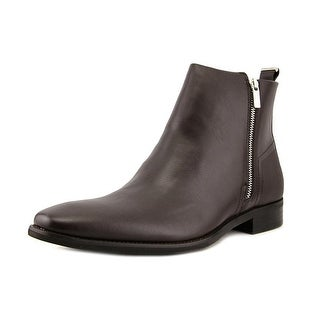 Calvin Klein Raxton   Square Toe Leather  Ankle Boot