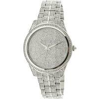 Michael Kors Women's Lauryn MK3717 Silver Stainless-Steel Fashion Watch
