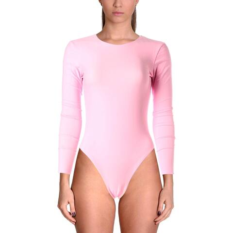 Cynthia Rowley Womens Gemma Open Back Reversible Surf Suit
