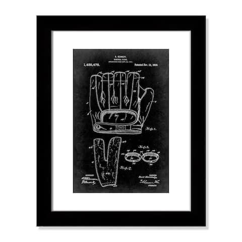 Vintage Baseball Glove Patent - 20.5'' x 16.5''